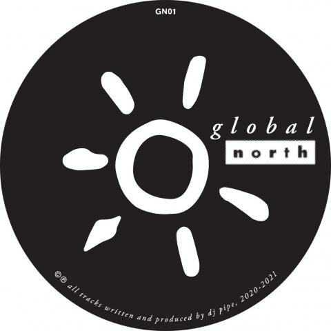 "( GN 01 ) DJ PIPE - Deeply Floored EP ( 12"" vinyl ) Global North"