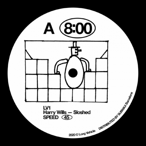 "( LV 1X ) Harry WILLS / TIM SCHLOCKERMANN / MBIUS - Untitled (12"") Long Vehicle"