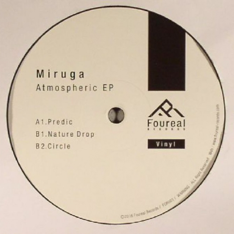 "( FOR 001 ) MIRUGA - Atmospheric EP -12"" - Foureal Japan"