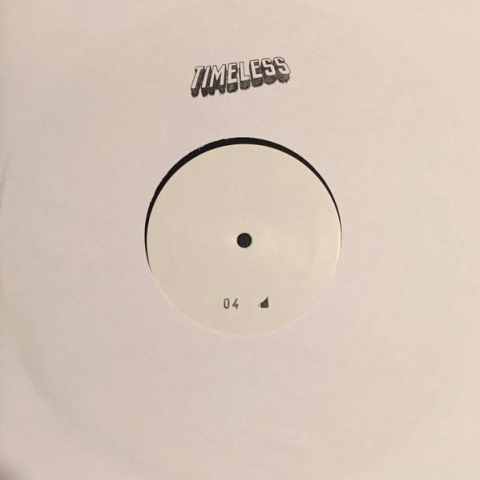"( TL 04 ) VARIOUS ‎– Untitled (Vinyl, 10"", White Label, Hand-Stamped) Timeless"