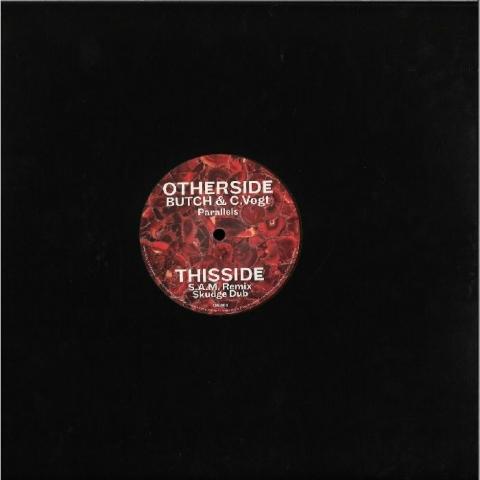 """( OS 006 ) BUTCH / C VOGT - Parallels (red marbled vinyl 12"""") OTHERSIDE Germany"""