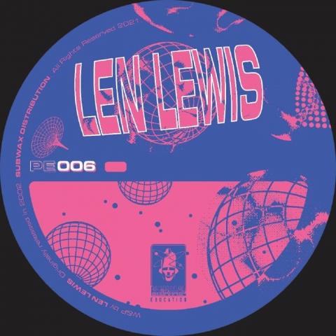 "( PE 006 ) Len LEWIS - Joy (reissue) (12"") Physical Education"