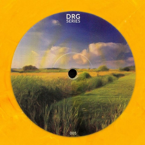 "( DRGS 005 ) DRG SERIES - DRGS 005 (orange marbled vinyl 12"") DRG Series Romania"