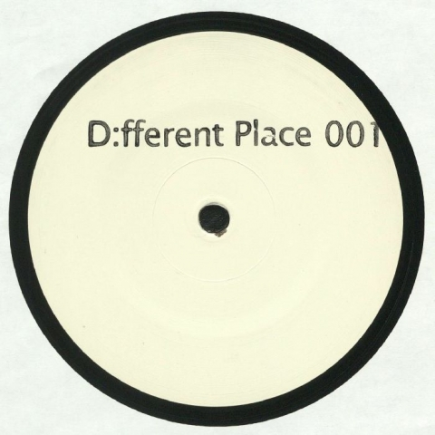 "( DEF 001 ) D:FFERENT PLACE -  D:FFERENTPLACE 001 (limited hand-stamped 180 gram vinyl 12"") D:fferent Place Germany"
