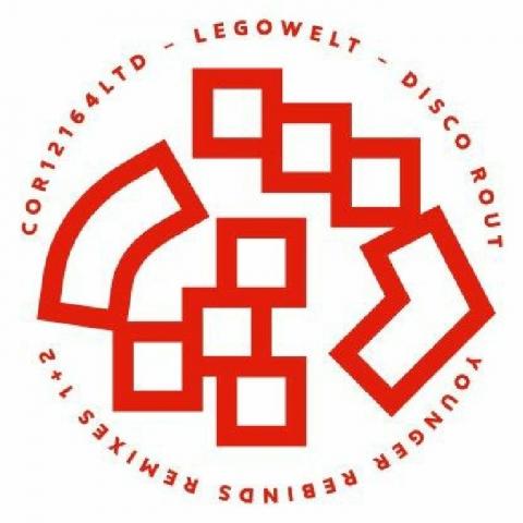 "( COR 12164LTD ) LEGOWELT - Disco Rout (12"") Cocoon Germany"
