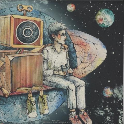 ( RWL004 ) Niko Maxen - Spoilt For Choice EP -  ROWLE