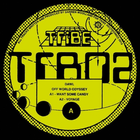 "(  TRB 02 ) DAWL -  Off World Odyssey (12"") Tribe Spain"
