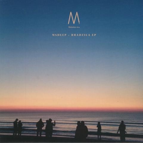 """( MALONIAN 004 ) MSDEEP - Rhadzica EP (12"""") Malonian Germany"""