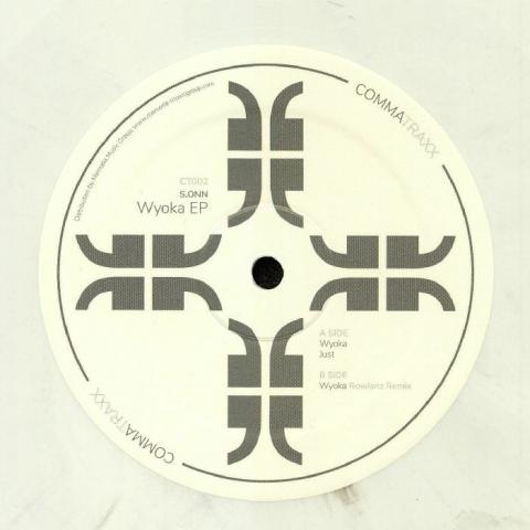 "( CT 002V ) S ONN - Wyoka EP (grey marbled vinyl 12"") Comma Traxx"