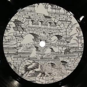 "( BTB 001 ) PYRAMID OF KNOWLEDGE - Beyond The Bridge ( vinyl 12"" ) Beyond The Bridge"