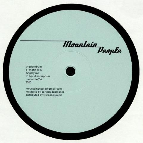 "( MOUNTAIN 016 ) SHADOWDRUM - Liquid Enterprises (12"") Mountain People Germany"