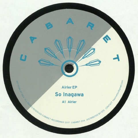"( CABARET 014R ) SO INAGAWA -Airier EP (reissue) (12"" repress) Cabaret Japan"