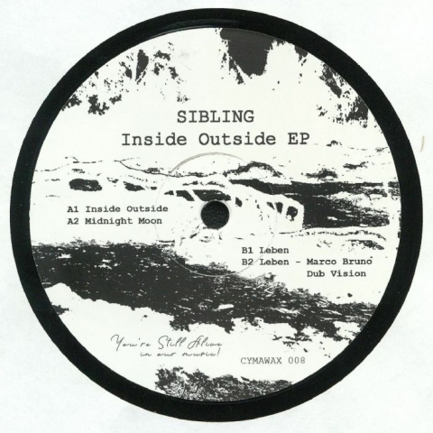"( CYMAWAX 008 ) SIBLING - Inside Outside EP (12"") Cymawax"