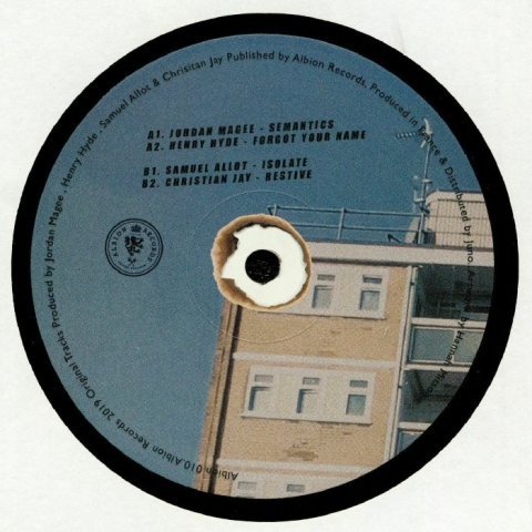 """( ALB 010 ) Henry HYDE / CHRISTIAN JAY / TC80 / CHRISTIAN AB - 7 Years & Three Quarters Of Albion (140 gram vinyl double 12"""") Albion"""