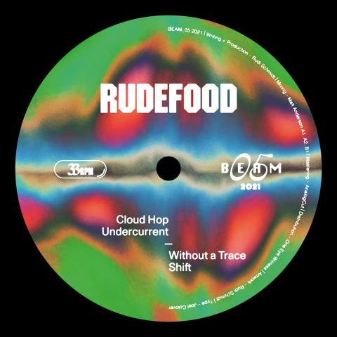 """( BEAM-05 ) RUDEFOOFD - Cloud Hop ( 12"""" vinyl ) Beam"""