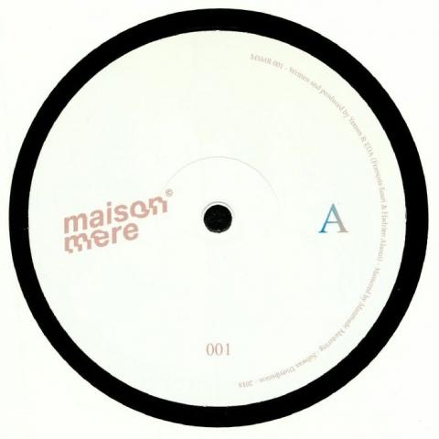 "( MSMR 001 ) YAMEN & EDA -  Retrospect EP (12"") Maison Mere France"