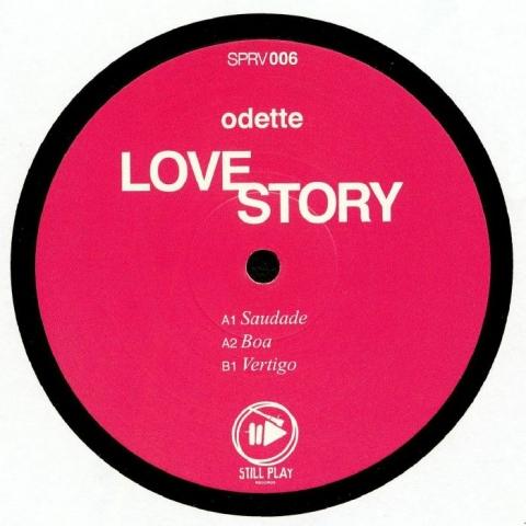 "( SPRV 006 ) ODETTE - Love Story (12"") Still Play Germany"