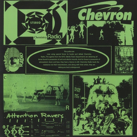 ( CHMR 02 ) CHEVRON - Chemistry Radio 02 (2xLP) Chemistry Radio