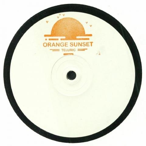 "( TELURIC 001 ) TELURIC - Orange Sunset (hand-stamped 12"") YYK No Label"