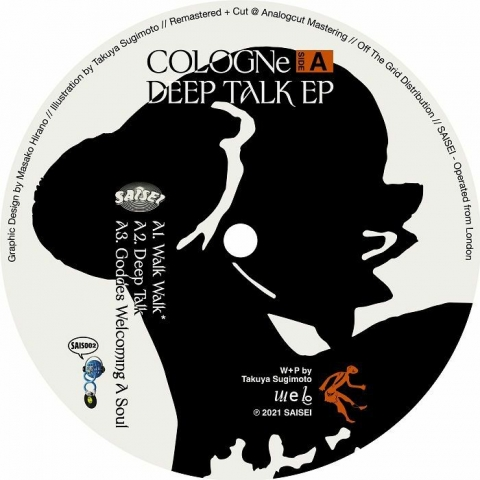 "( SAIS 002 ) COLOGNE - Deep Talk EP (12"") Saisei Japan"