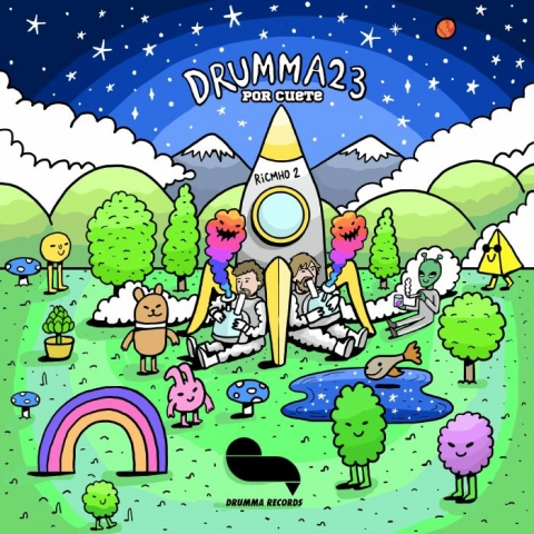 "( DRUMMA 023 ) RICMHO aka RICARDO VILLALOBOS & UMHO - Por Cuete Ricmho (12"") Drumma Germany"