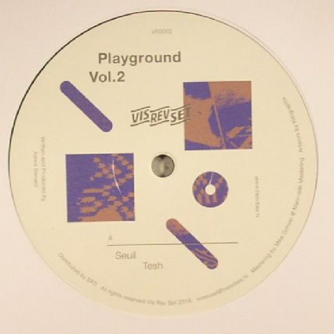 "( VRS 002 ) SEUIL / PDD - Playground Vol 2 (12"") - Vis Rev Set"