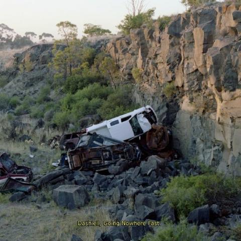 """( FLTSNS 004 ) DASHIELL - Going Fast Nowhere (12"""") Felt Sense Australia"""