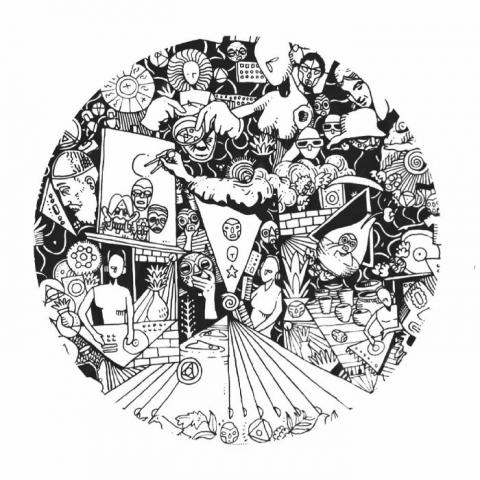 "( V&T 003 ) VOODOOS & TABOOS - Catarsi EP ( 12"" vinyl ) Voodoos & Taboos"