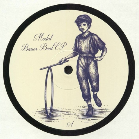 "( JJW 002 ) MODAT - Bauer Beat EP (12"") Johnny Johnny"