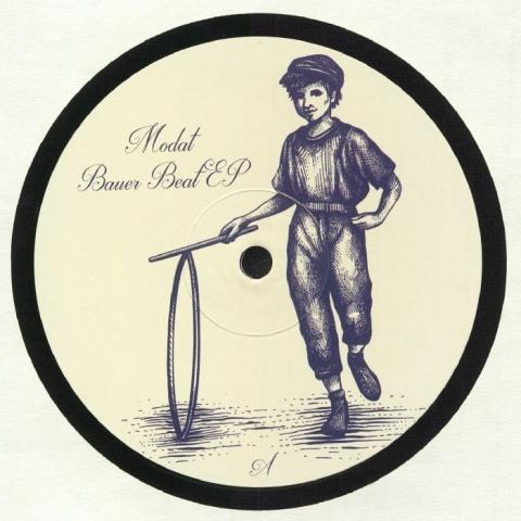 "( JJW 002 ) MODAT - Bauer Beat EP (12"") Johnny Johnny"