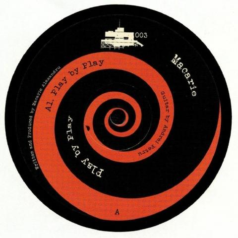 "( CDW 003 ) MACARIE -Play By Play (heavyweight vinyl 12"") Cedesciu Wax US"
