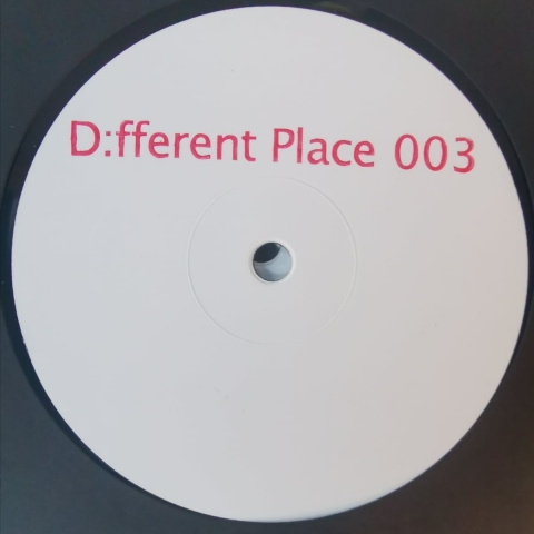 "( DEF 003 ) D:FFERENT PLACE - D;fferent Place 003 (12"") D:fferent Place Germany"