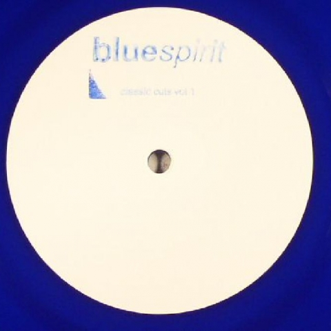 "( SPIRIT 2016 ) BLUESPIRIT aka STEVE O'SULLIVAN - Classic Cuts Vol 1 (hand-stamped 180gr blue vinyl 12"") Bluespirit"