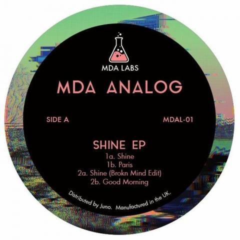 "( MDAL-01) MDA ANALOG - Shine EP (140 gram vinyl 12"") MDA Labs"