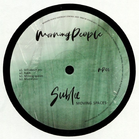 "( MP 01 ) SUBLEE - Moving Spaces (12"") Morning People"