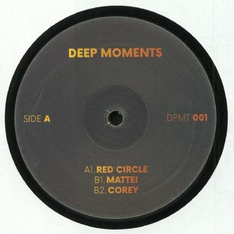 "( DPMT 001 )  DEEP MOMENTS - Deep Moments 001 (12"") - Deep Moments France"