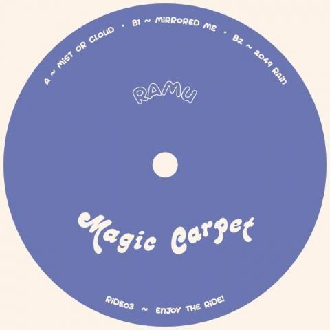 "( RIDE 03 ) RAMU - Mist or Cloud EP (12"") Magic Carpet Portugal"