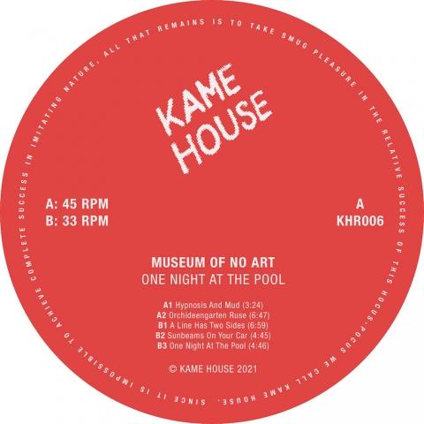 "( KHR 06 ) MUSEUM OF NOhttps://www.viniil.com/admin/contenuto/edit/5/3721/1# ART - One Light At The Pool ( vinyl 12"" )  Kame House Records"