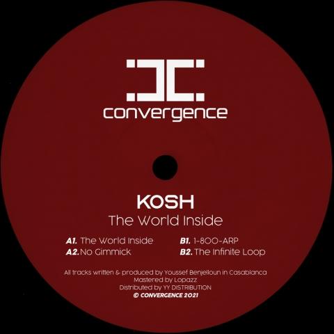 "( CONV001 ) KOSH - The World Inside (12"") Convergence"