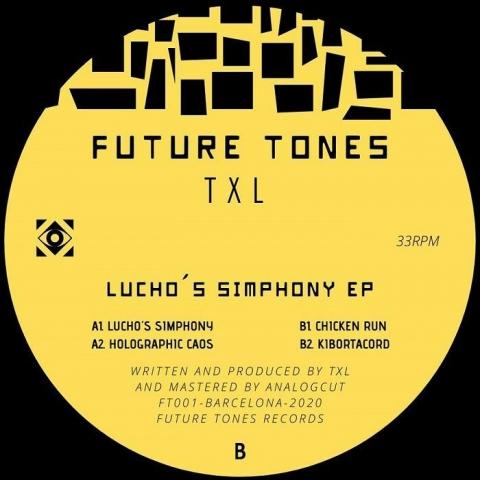 "( FT 001 ) TXL - Lucho's Simphony EP (12"") Future Tones"