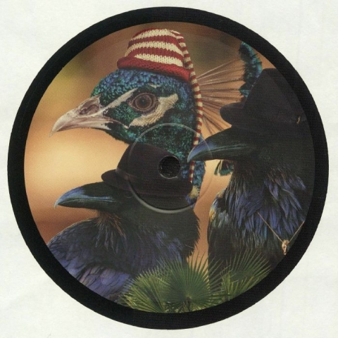 "( SM 008 ) TOM RIES / BIRDSMAKINGMACHINE - Bird Gang (12"") Slowdy Mowdy Holland"