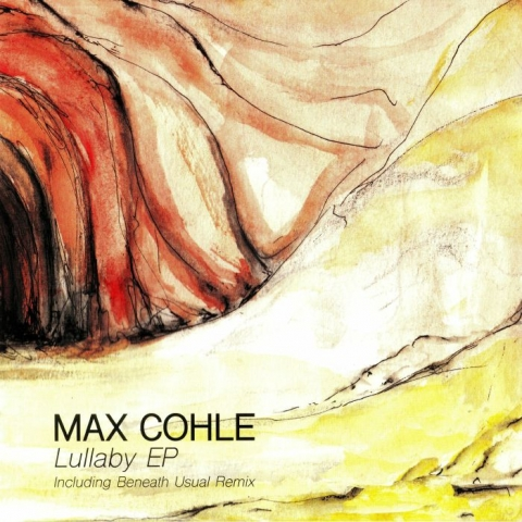 """( REDRAW 003 ) Max COHLE - Lullaby EP (red splattered vinyl 12"""" limited to 300 copies) Redraw France"""