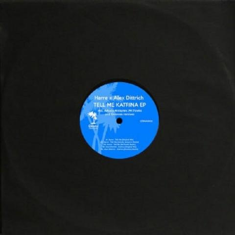 """( CTRWAX 002 ) HARRE / ALEX DITTRICH - Tell Me Katrina EP (12"""") Caleto"""