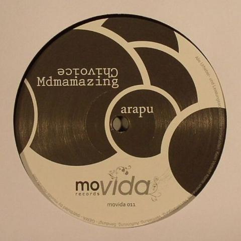 "( MOVIDA 011 )  ARAPU - Mdmazing (12"") Movida Germany"