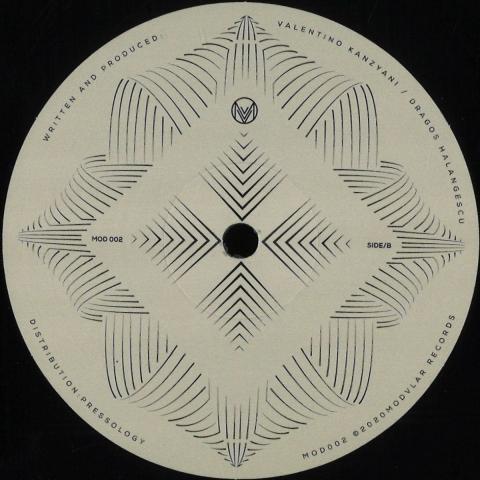 "( MOD 002 ) Valentino KANZIANI - Ibiza Change EP (12"") Modvlar Italy"