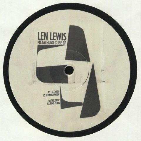 """( XIII 003 ) Len LEWIS - Metatrons Cube EP (12"""") XIII Germany"""