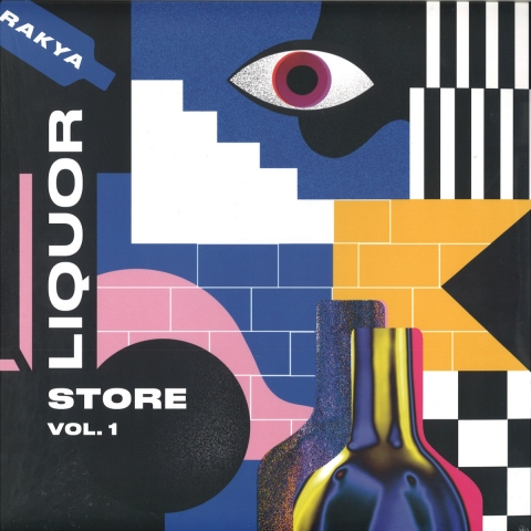 "( ZORA 003 ) CHARONNE / LOOP EXPOSURE - Rakya Liquor Store Vol 1 (12"") Rakya France"