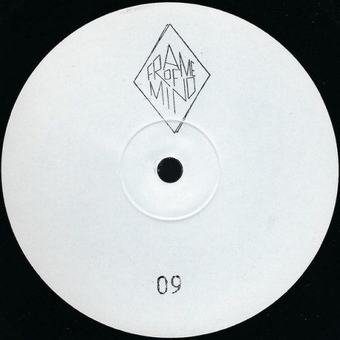 "( FOM 009 ) Hi-RYZE ‎– Cyberia / After The Flood (white innersleeve. unprinted labels, rubberstamped 12"") Frame Of Mind"