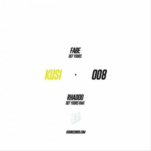 """( KUSI 008) FABE - Def Yours (180 gram vinyl 12"""") Kusi"""