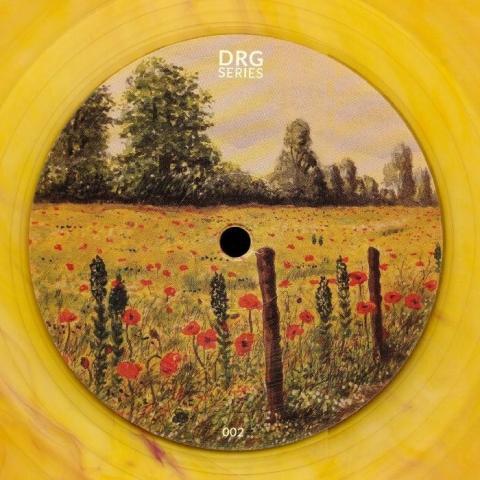 """( DRGS 002C ) DRG SERIES - DRGS 002 (repress) (heavyweight coloured vinyl 12"""") DRG Series Romania"""